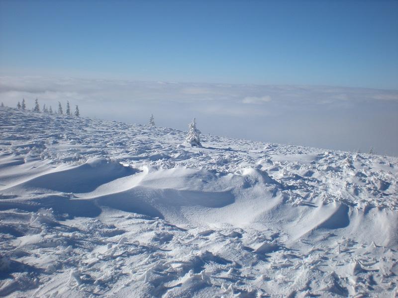 Зимски успон на планину Грамаду код Власинског језера